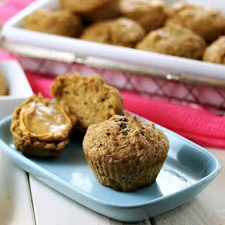 Cinnamon Apple Raisin Bran Muffins.
