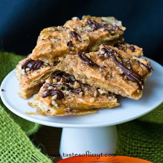 Pumpkin Spice Saltine Toffee