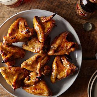Honey Mustard Chicken Wings.
