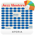 XPERIA™ Blue Note Vinyl Theme icon