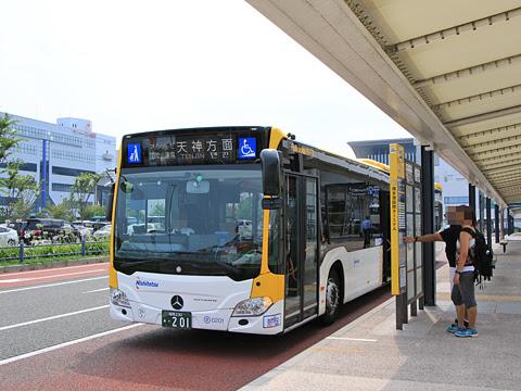 西鉄 福岡連接バス 0201 博多港国際ターミナル