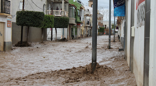 Las históricas y peligrosas riadas quedan atrás: 10 millones para Rambla Nogalte