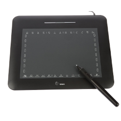 Amzdeal® New USB Pen Graphics Tablet Pad Pen Drawing Art Design - image