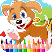 Dogs Coloring Book Free