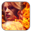 Fire Effect Photo Editor : Video Maker icon