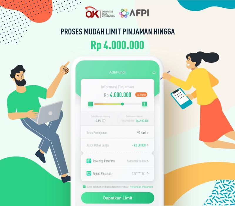 Adapundi Pinjaman Uang Dana Rupiah Online Cepat Android Appar