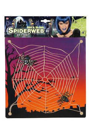 Spindelväv, självlysande med sugproppar