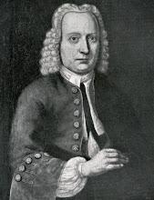 """Photo: Abel Viëtor (1705-1762) op 44-jarige leeftijd, geschilderd door W. Lubbers in 1749. Abel was lakenkoper """"In de Gouden Schaal"""" aan de Vischmarkt te Groningen, ouderling van de gereformeerde kerk en voogd over de burgerwezen. Hij was in 1734 gehuwd te Groningen met Anna Dassen. Zij behoren tot mijn voorouders (officieel heten die in dit geval oudovergrootouders). De afbeelding is afkomstig uit """"Het geslacht Viëtor"""" uit 1910."""