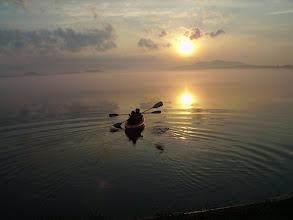 Photo: A morning paddle