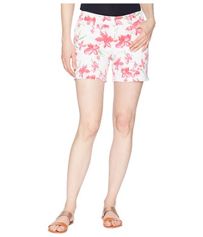 Imbracaminte Femei Tommy Bahama Floral Fade Shorts White