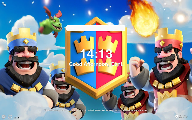 Clash Royale HD Wallpapers and New Tab