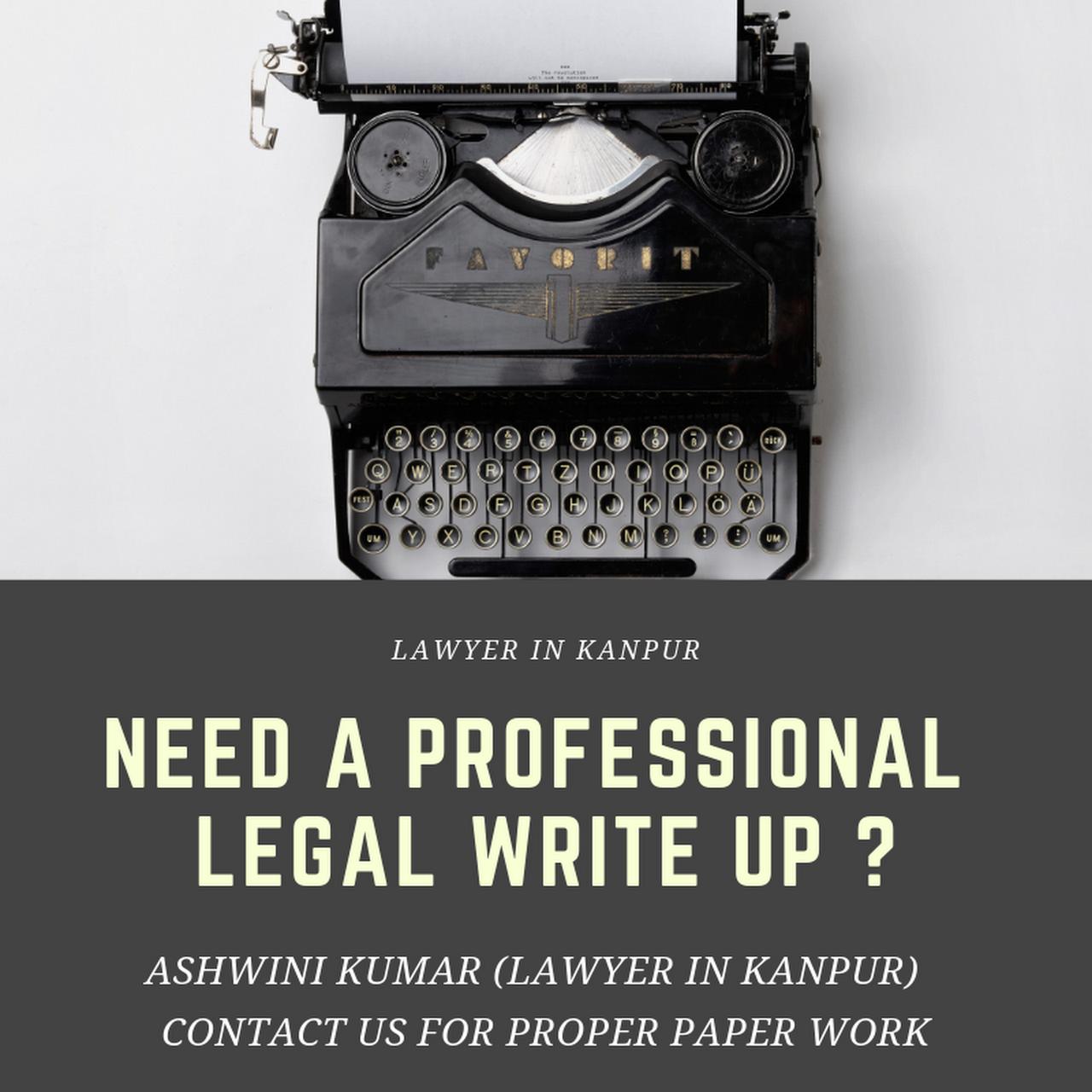 Ashwini Kumar (Lawyer in Kanpur) - Criminal, Civil