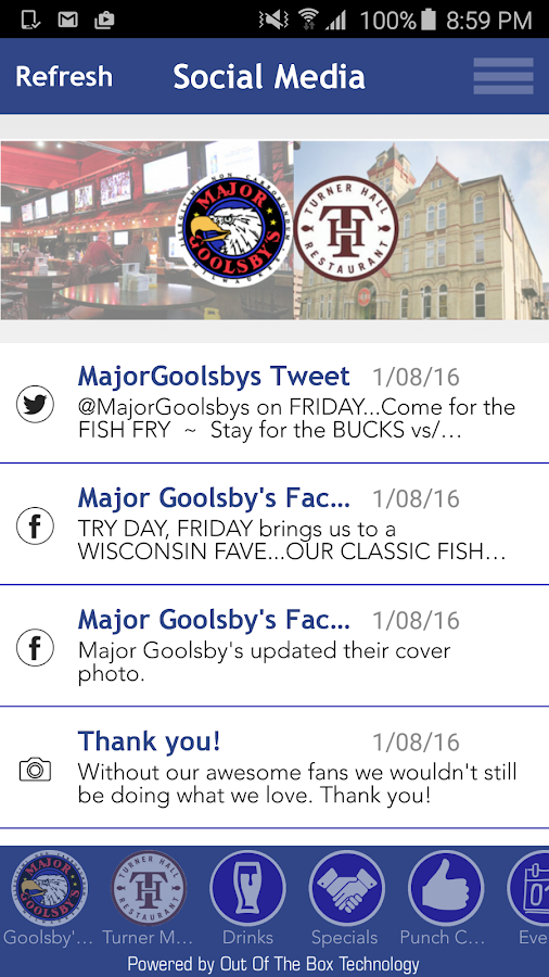 Major Goolsby's- screenshot
