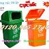 Thùng rác 90L giá siêu rẻ - 0984423150 - Huyền