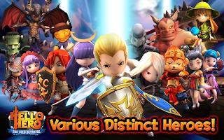 Screenshot of Hello Hero RPG