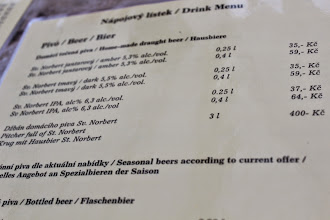 Photo: Yes, you can have a beer in a 3-litre pitcher. At Strahov Monastic Brewery.
