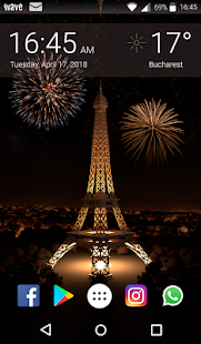 Paris Night Animated Keyboard + Live Wallpaper for PC-Windows 7,8,10 and Mac apk screenshot 6