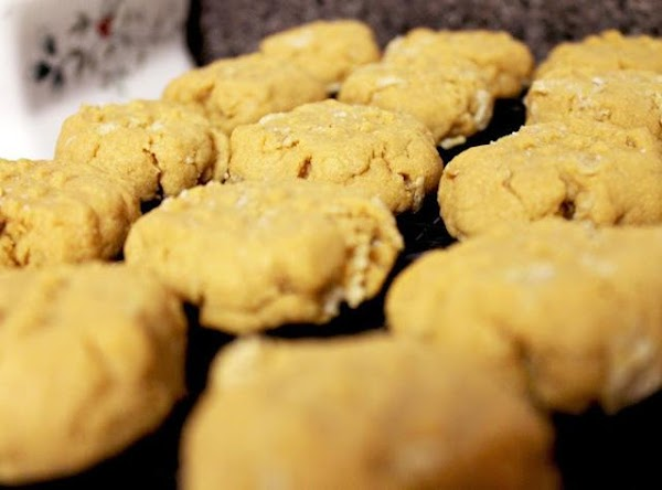 Bake for 9 minutes in the oven until cookies are slightly golden. Let cookies cool...