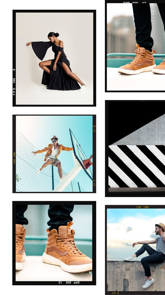 Fashion Collage Frame - Facebook Story Template