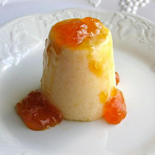 Czech Apricot Mousse Made with Fresh Fruit