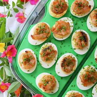 Honey-Barbecue Shrimp Deviled Eggs Recipe