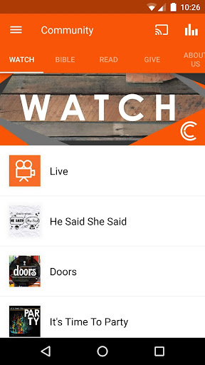 The Community Church App