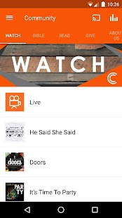 The Community Church App- screenshot thumbnail