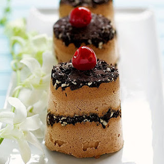 """Frozen Chocolate """"Soufflés"""""""