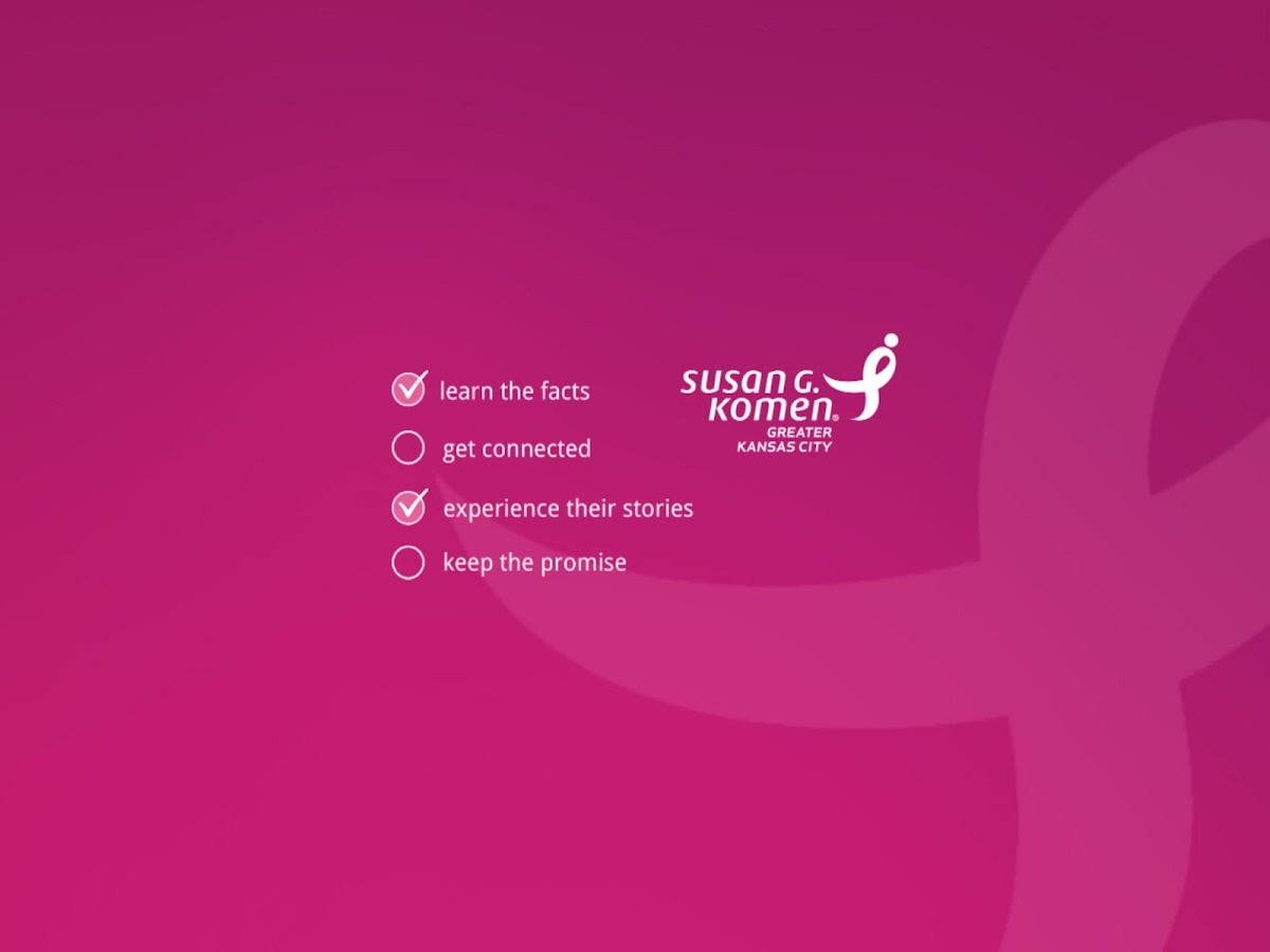 Komen : Connected for the Cure- screenshot