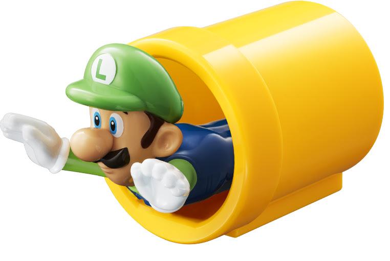 ของเล่นแถม Super Mario จากชุด Happy Set ของ McDonalds ที่ญี่ปุ่น