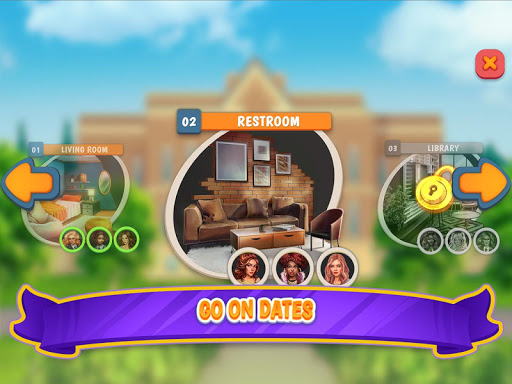 Campus: Date Sim apkpoly screenshots 10