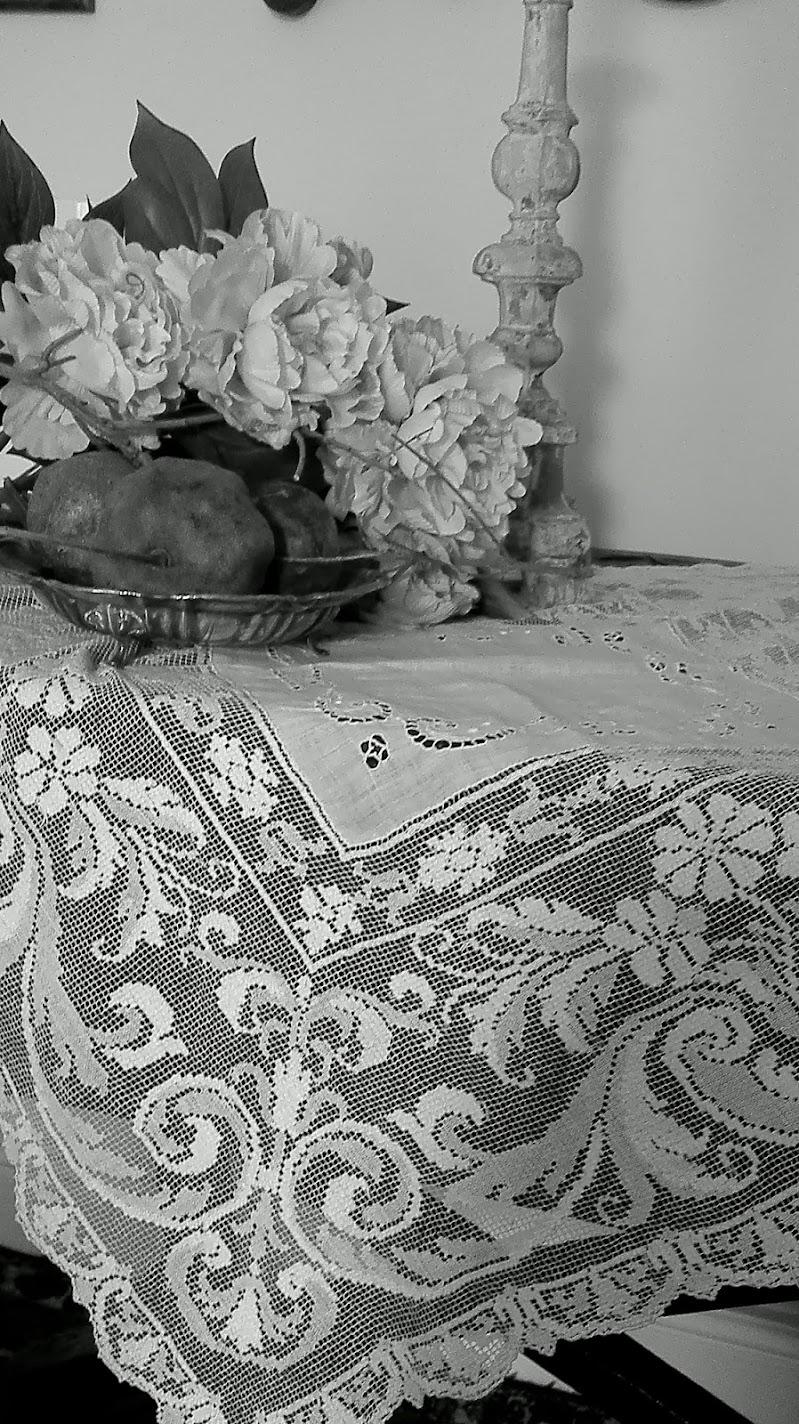 fiori e vecchi merletti di Roland