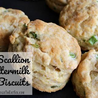 Scallion Buttermilk Biscuits.