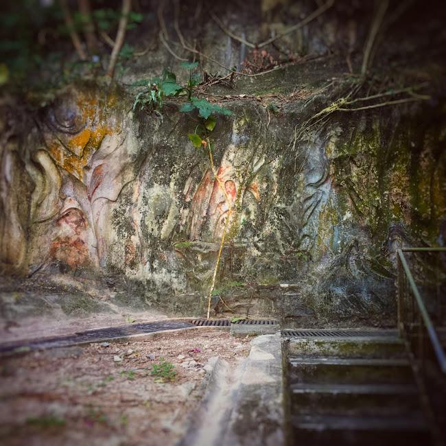 Wall, Tiger Balm Gardens,  虎豹別墅, 牆, hong kong, 香港