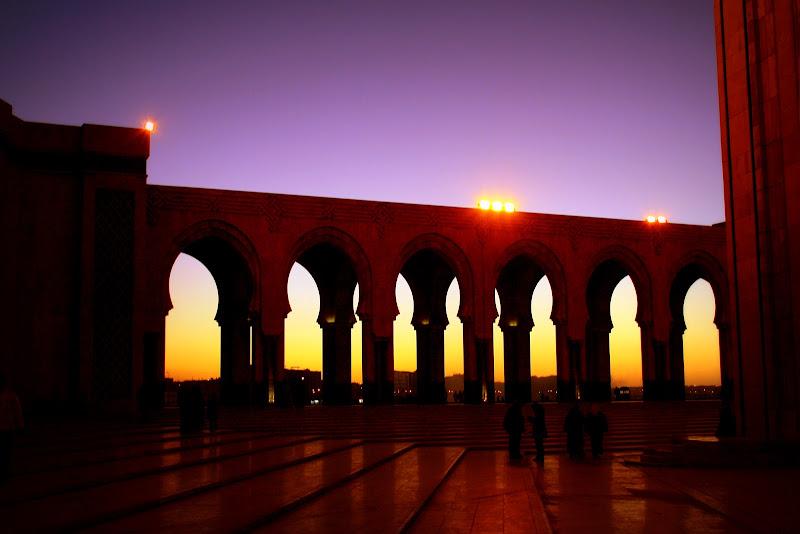 Moschea al tramonto di Barbara