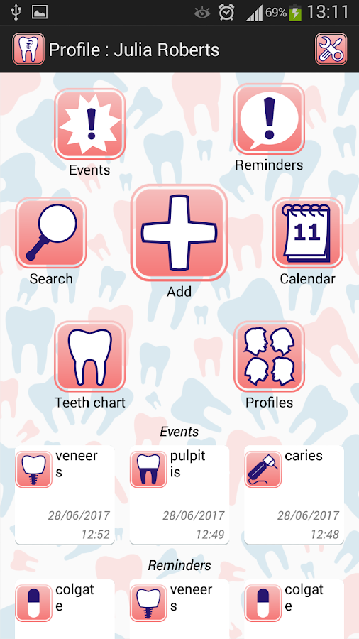 Dentist - Dental clinic appointment manager- screenshot