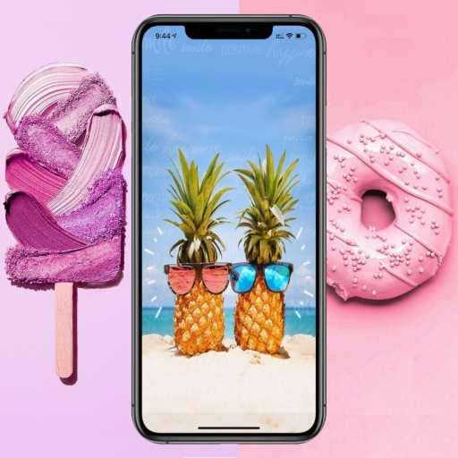 Wallpaper Pastel Wallpaper Pink Google Play Ko Aplikazioak