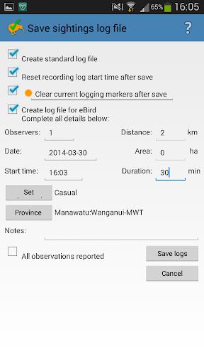 NZ Birding Checklist screenshot 4