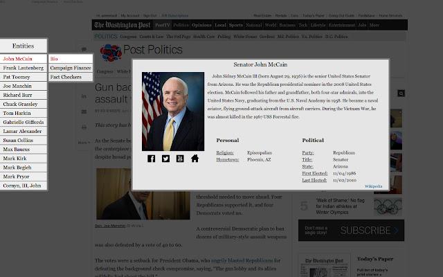 Data Explorer - US Politics