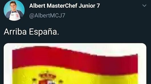 Cierran la cuenta de Twitter de un concursante de MasterChef Junior
