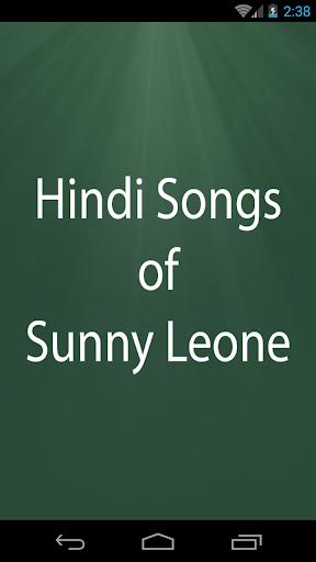 Hindi Songs of Sunny Leone