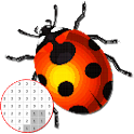Bugs Color By Number - Pixel Art icon