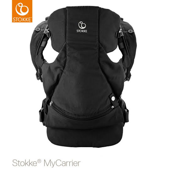 Stokke Front and Back Carrier - svart