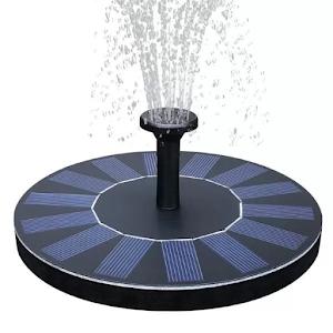 Fantana arteziana plutitoare cu panou solar, IPX8, 160x160 mm
