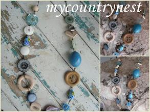 Photo: collane bottoni, modello light