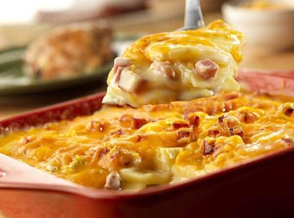Fredas Scalloped Potatoes With Ham Recipe