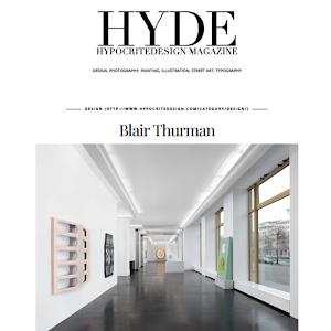 Blair Thurman, HYDE magazine