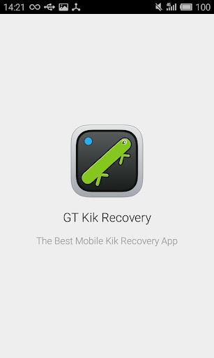 GT Kik Recovery