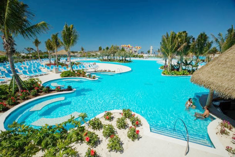 The Oasis Lagoon features the Caribbean's largest freshwater pool.