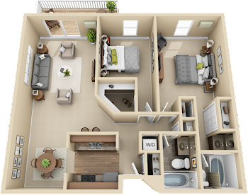 Go to 2C Floorplan page.